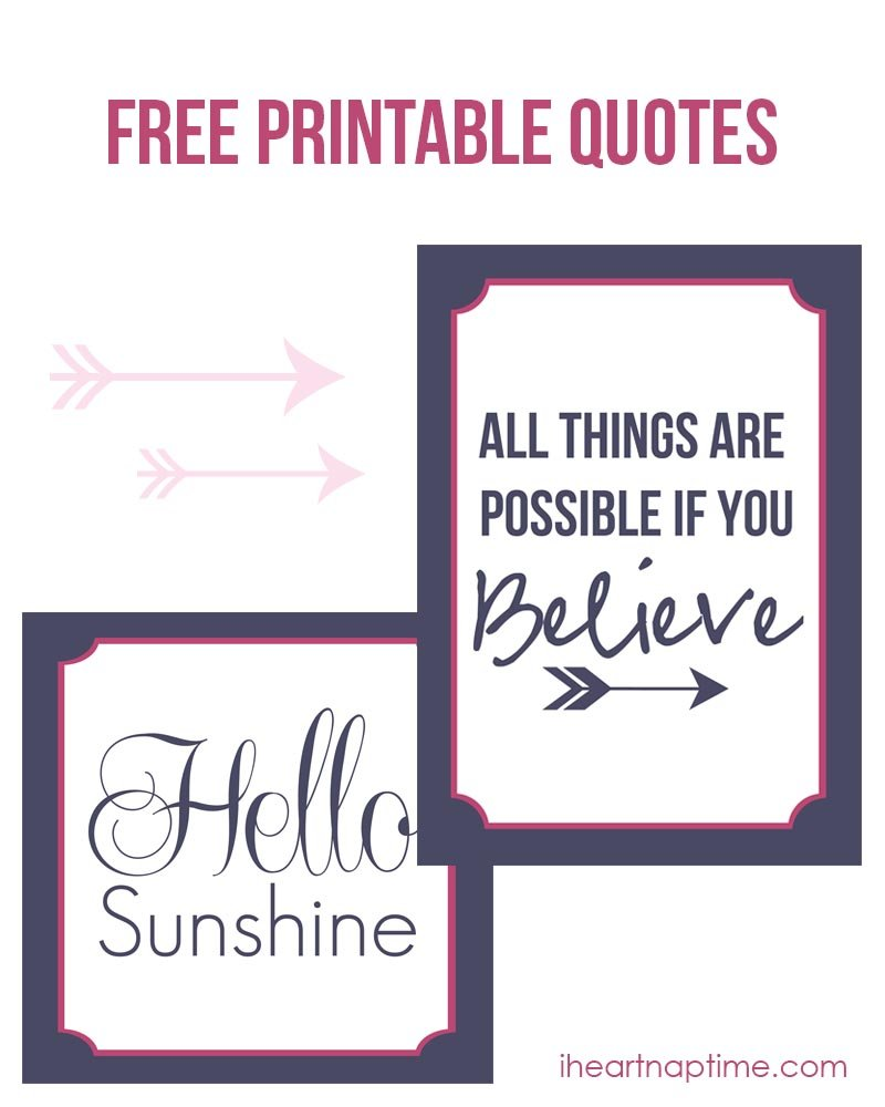 Mesmerizing image for printable sayings