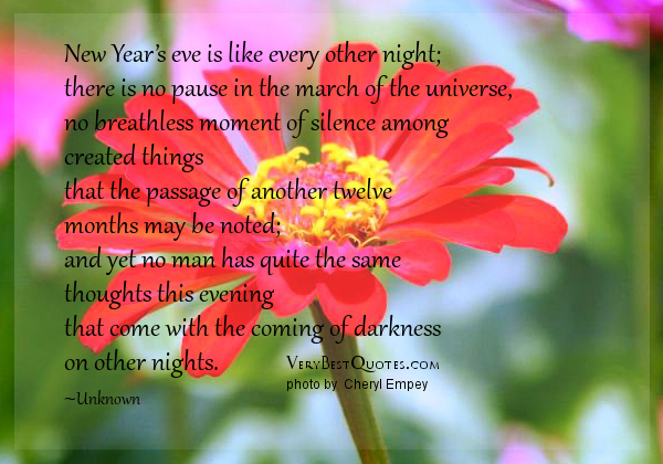 Positive Quotes New Year S Eve. QuotesGram