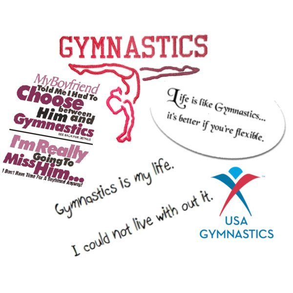 Famous Gymnastics Quotes And Sayings Quotesgram