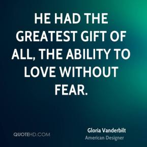 Vanderbilt quote he had the greatest gift of all the ability jpg
