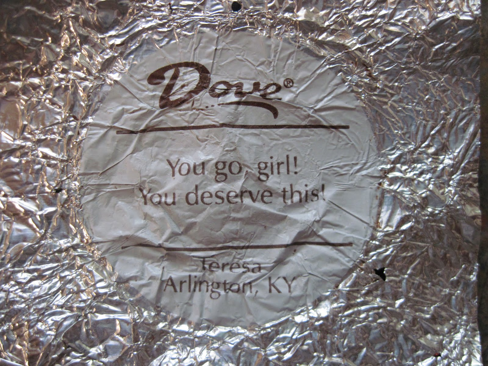 Dove Chocolate Sayings - Pumpkin Chocolate Chip Cookies
