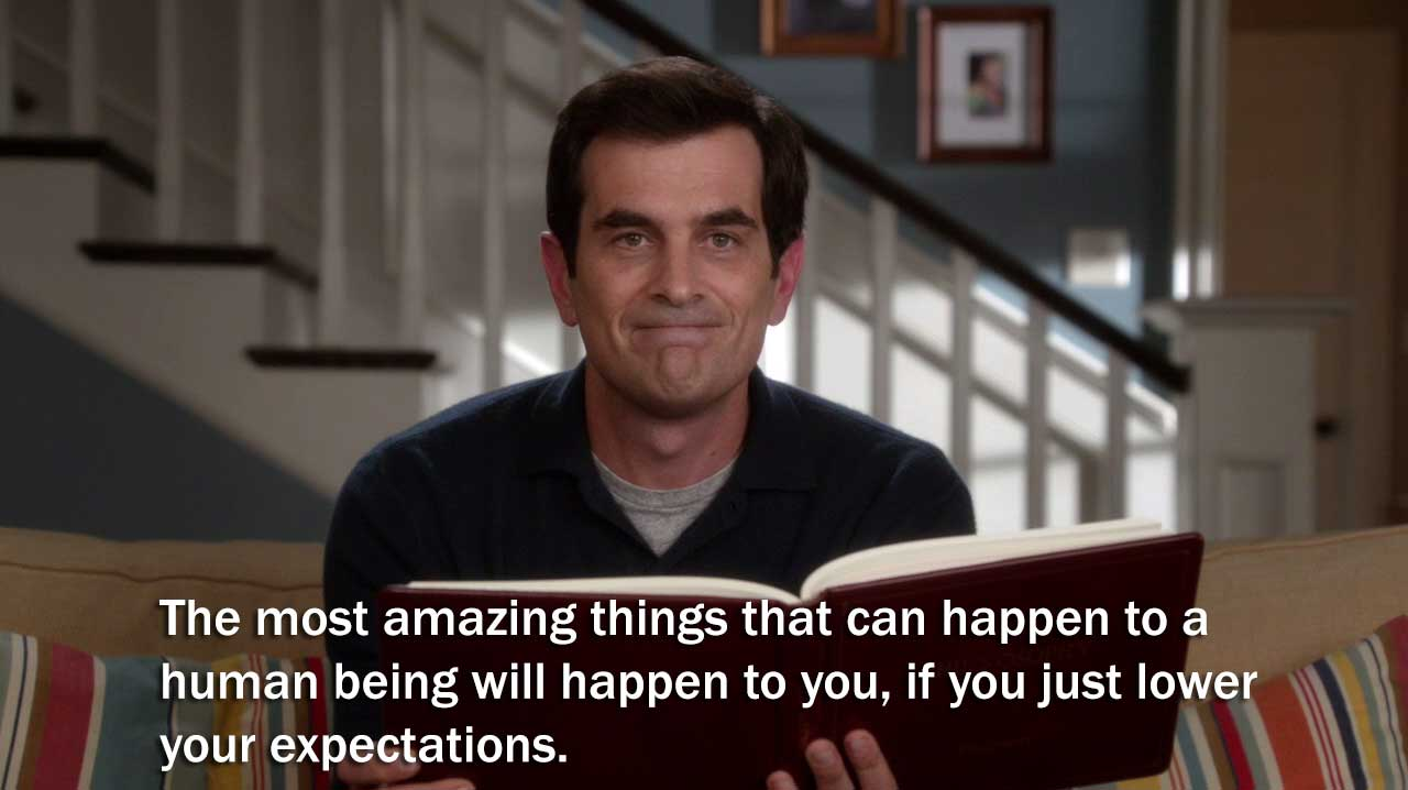 phil dunphy philosophy quotes quotesgram