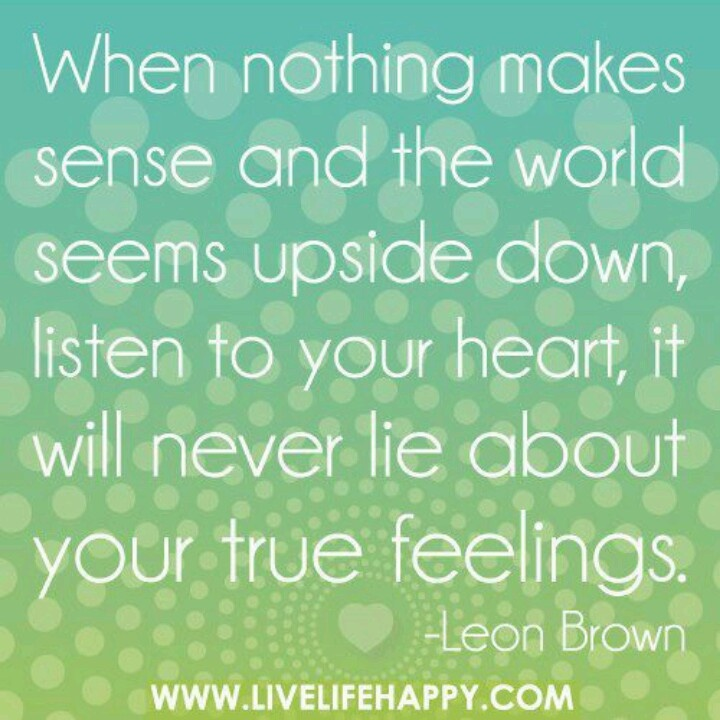 Quotes About True Feelings. QuotesGram