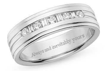 Engagement Ring Engraving Quotes RingsCladdagh