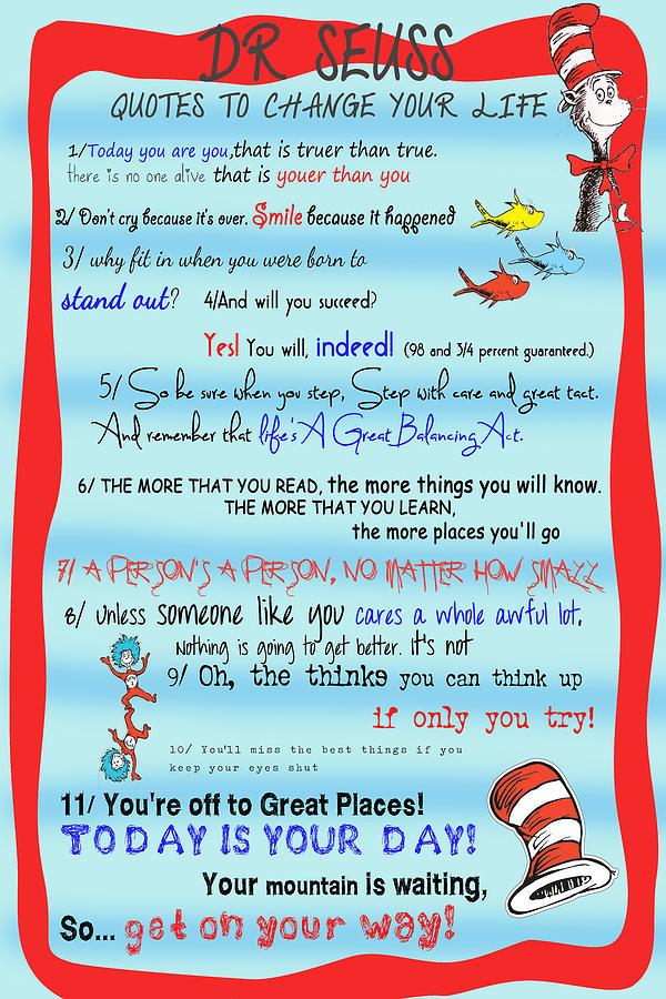 Top 30 Dr Seuss Quotes Quotesgram