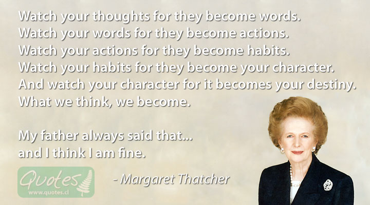 """margaret thatcher historical leadership In an interview depicted in the movie, margaret thatcher described this cultural difference as part of her own leadership philosophy: """"we in great britain and in europe are formed mainly by our history."""
