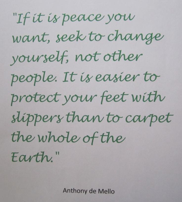 Ba Quote: Anthony De Mello Quotes On Love. QuotesGram