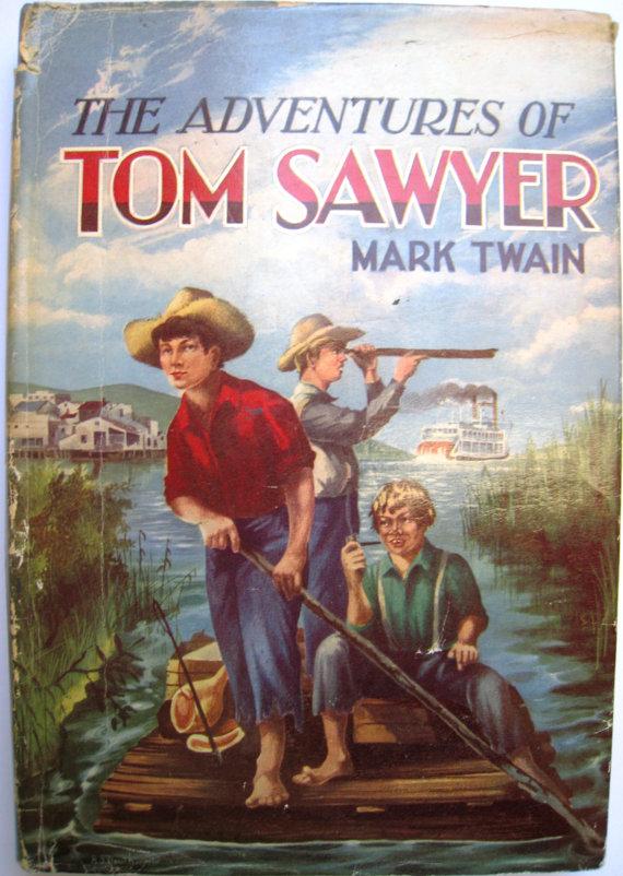 the adventures of tom sawyer - 570×802