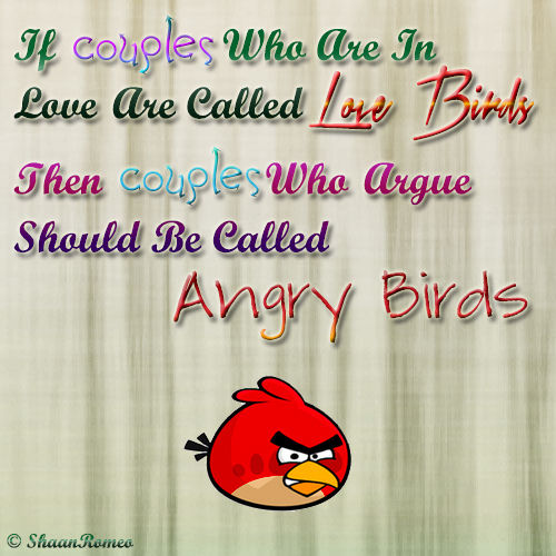 Quotes About Anger And Rage: Angry Birds Funny Quotes. QuotesGram