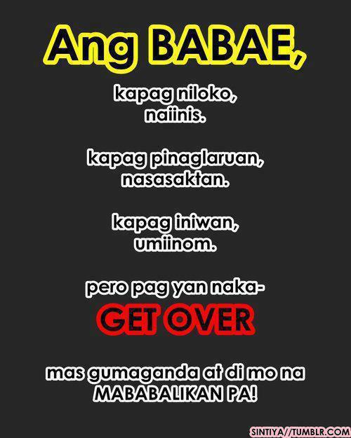Messages text tagalog sweet A lovely