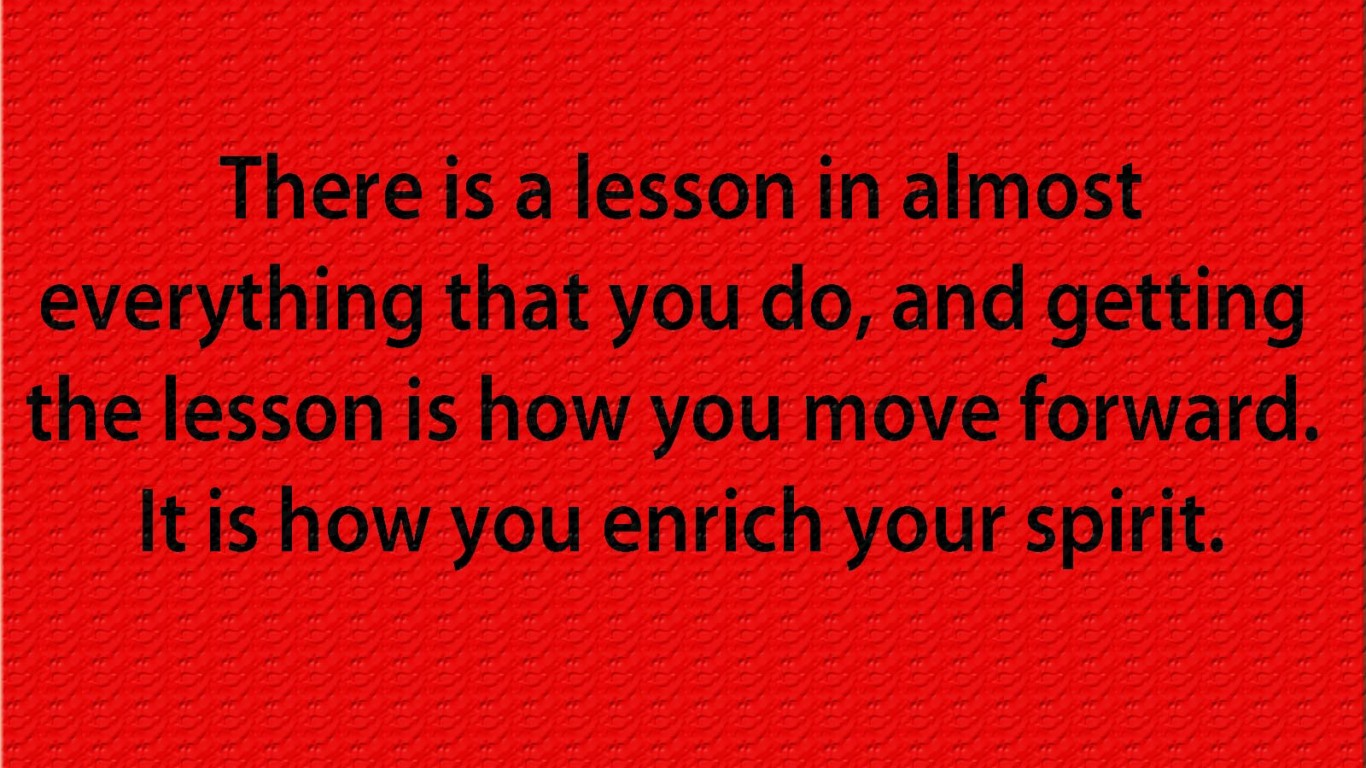 i learned my lesson Definition of lesson written for english language learners from the merriam-webster learner's dictionary with audio pronunciations, usage examples, and count/noncount.