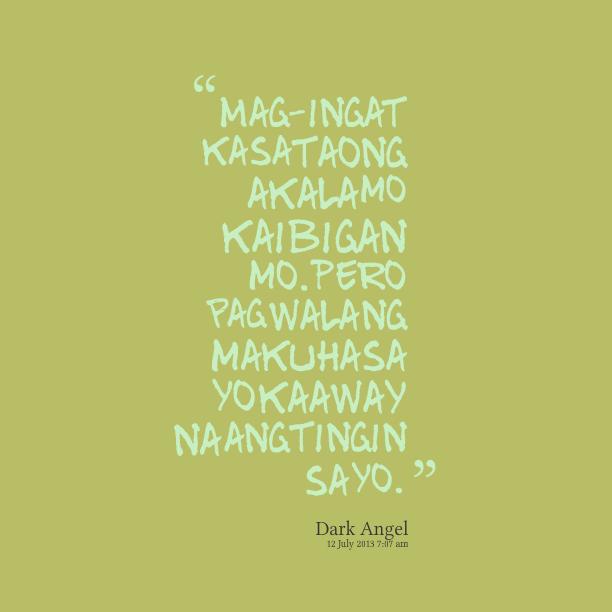 Twitter Quotes Tagalog Patama: Patama Sa Malandi Quotes. QuotesGram