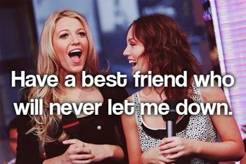 Blair And Serena Friendship Quotes. QuotesGram