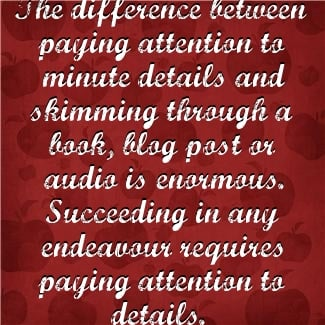 essay paying attention detail Not paying attention to details at work and not being efficient can cost you attention attention to detail being efficient business details efficiency.