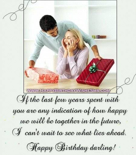 Romantic Birthday Love Messages: Romantic Quotes For Her Birthday. QuotesGram