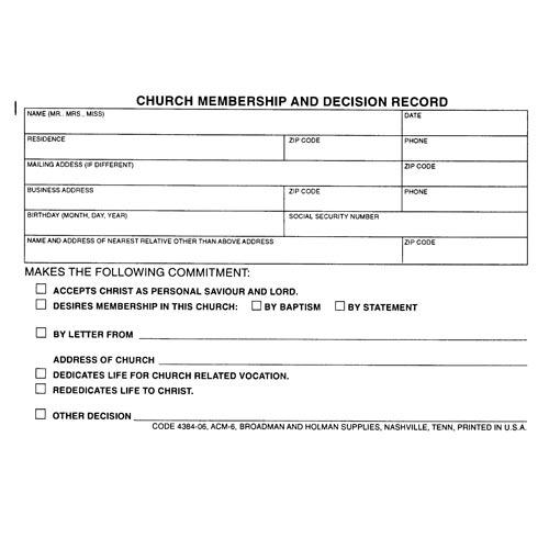 Church Membership Form Template from cdn.quotesgram.com