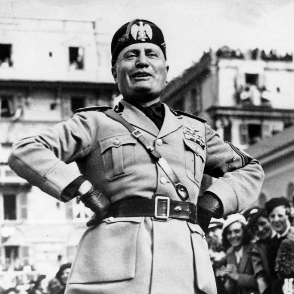 Benito Mussolini On Fascism Quotes. QuotesGram