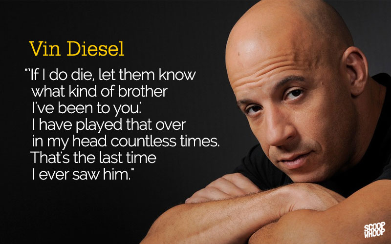 Vin Diesel Inspirational Quotes: I Got I Got Family Furious 7 Quotes Friends Dont. QuotesGram