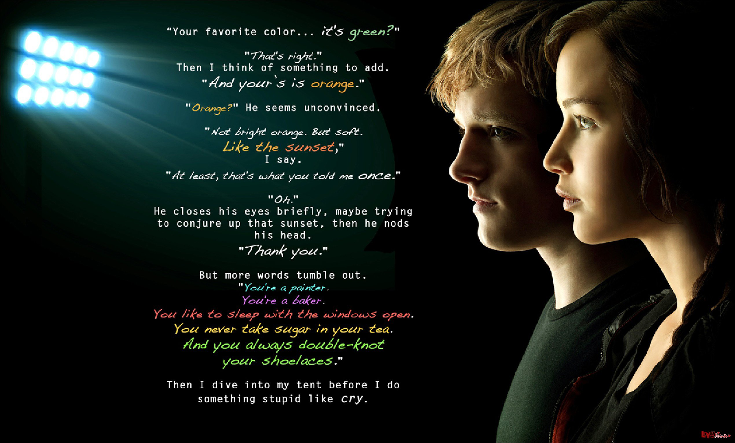 Hunger Games Catching Fire Peeta Quotes