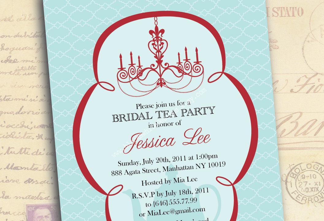 Invitation For Wedding Party: Bridal Tea Party Quotes. QuotesGram