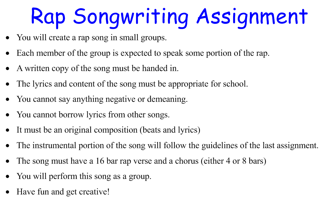 How To Write A Song Analysis Essay