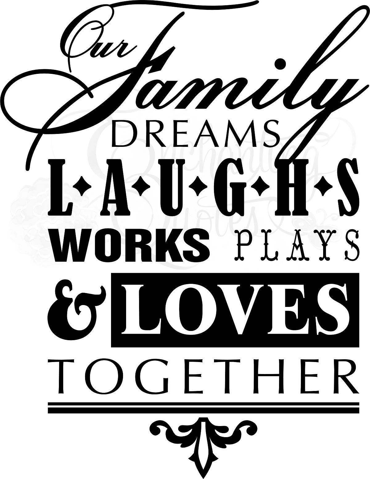family wall quotes quotesgram