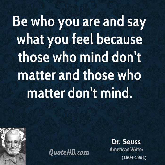 Dr Seuss Quote: Those Who Matter Quotes. QuotesGram