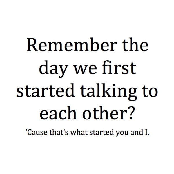Beginning Relationship Quotes: Starting A New Relationship Quotes. QuotesGram