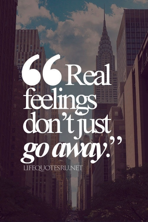 Endless feelings quotes