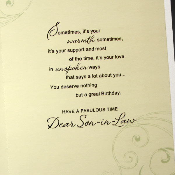 Birthday Greetings For Son Quotes. QuotesGram