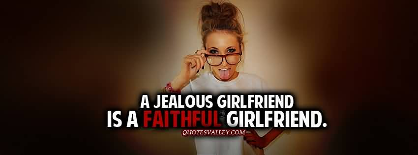 Girl not dating but jealous
