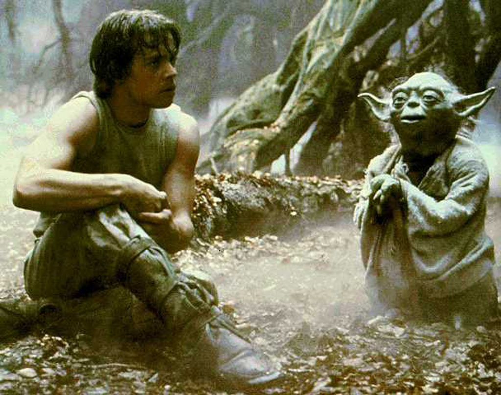 Luke Skywalker And Yoda Quotes. QuotesGram