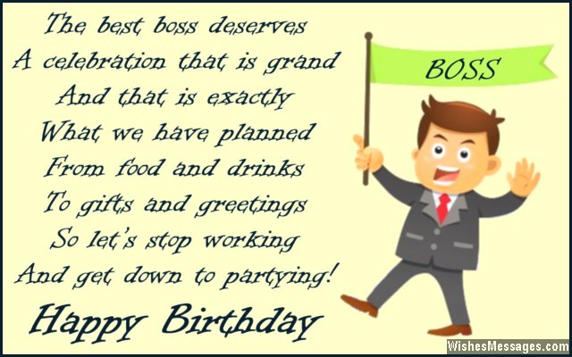 Funny Birthday Boss Quotes Quotesgram