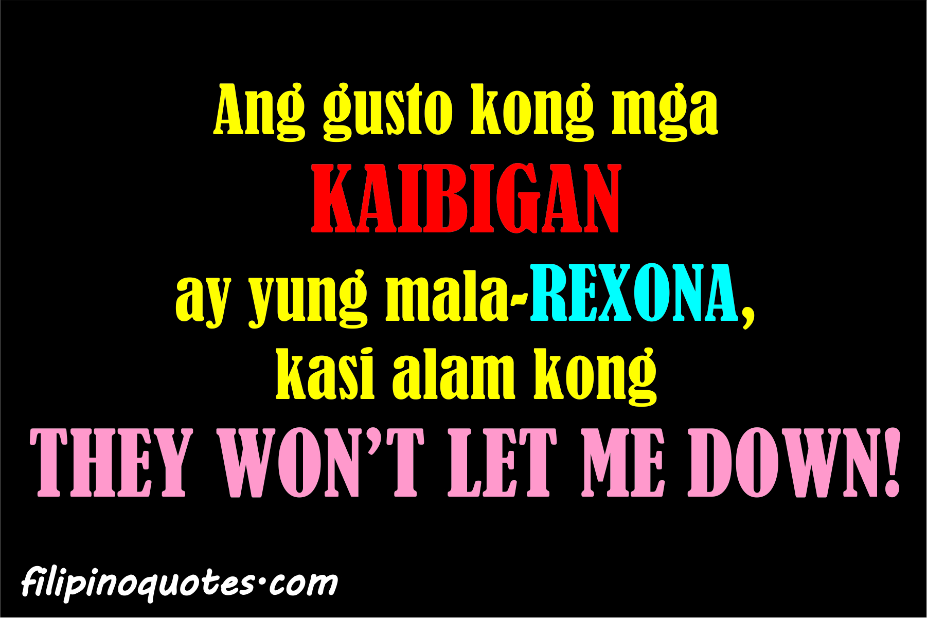 Quotes About Tagalog Friendship Tagalog Quotes And Say...