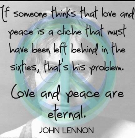 Imagine Peace John Lennon Quotes. QuotesGram