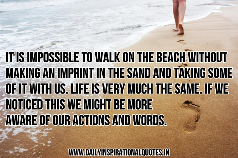 Inspirational Quotes About The Beach. QuotesGram