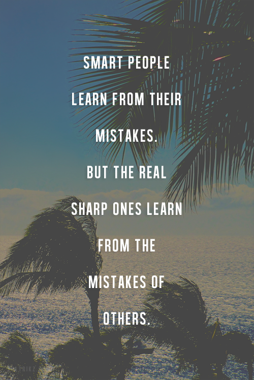 Learning From Mistakes Quotes. QuotesGram