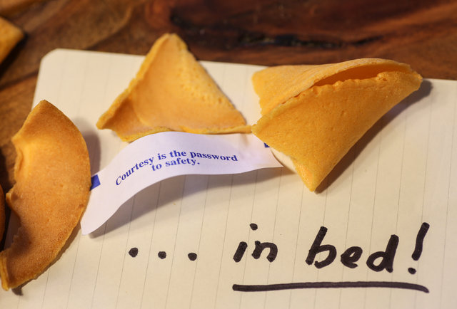 Fortune Cookies Are Re...
