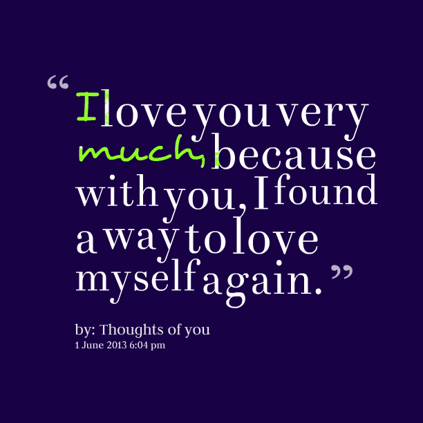 Love Finds You Quote: I Found You Quotes. QuotesGram