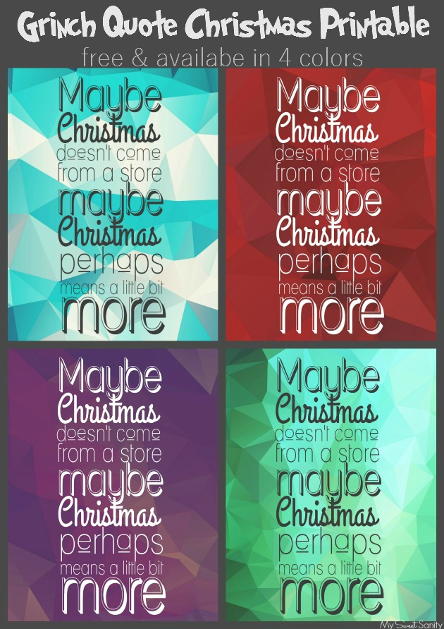 Printable Christmas Quotes Quotesgram