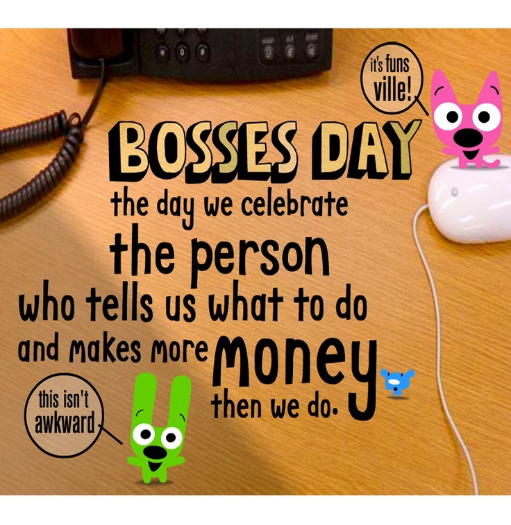 Quotes For Bosss Day Quotesgram