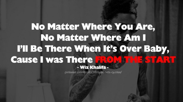 Wiz Khalifa Quotes About Life And Love. QuotesGram