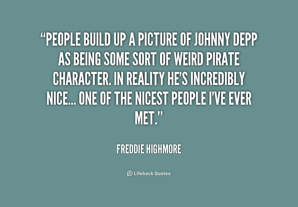 Freddie Highmore Quotes Quotesgram