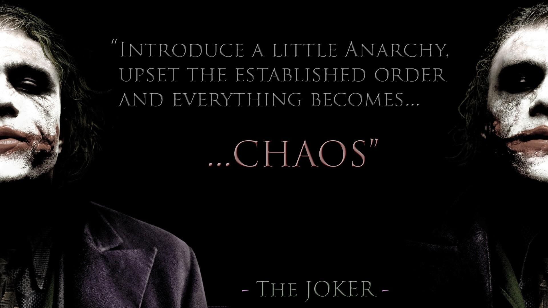 Batman Dark Knight Joker Quotes. QuotesGram Quotes About Falling Apart