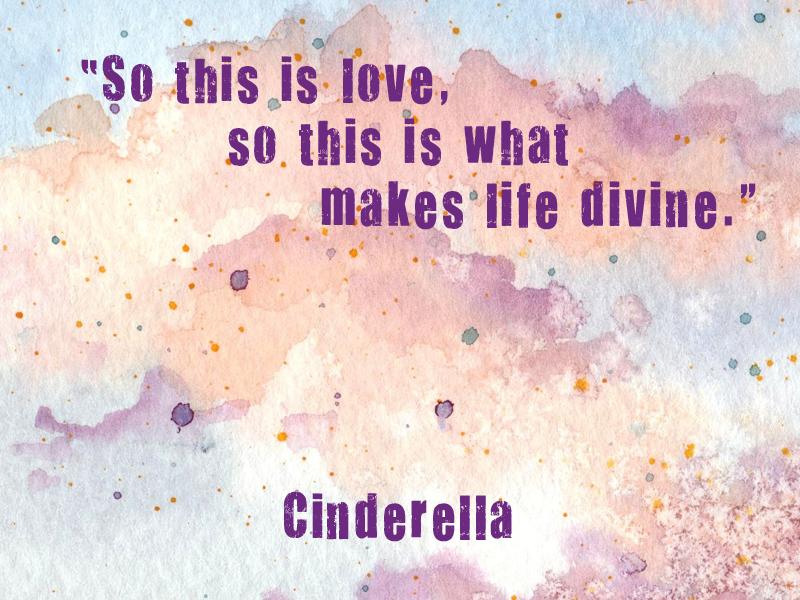 cinderella love quotes quotesgram