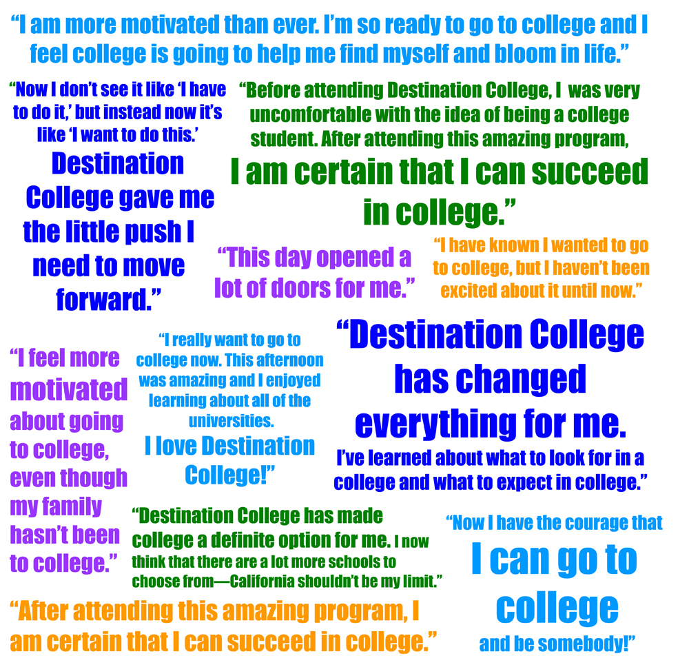 college success The mission of css is to prepare students for success at cuesta college through the instruction of pre-collegiate, basic skills, and transfer-level coursework emphasizing college readiness, css effectively supports students in their efforts to improve foundational and college-readiness skills.