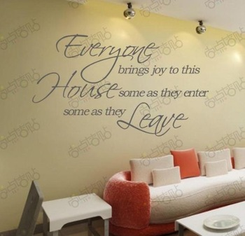 Dining Room Wall Quotes Quotesgram
