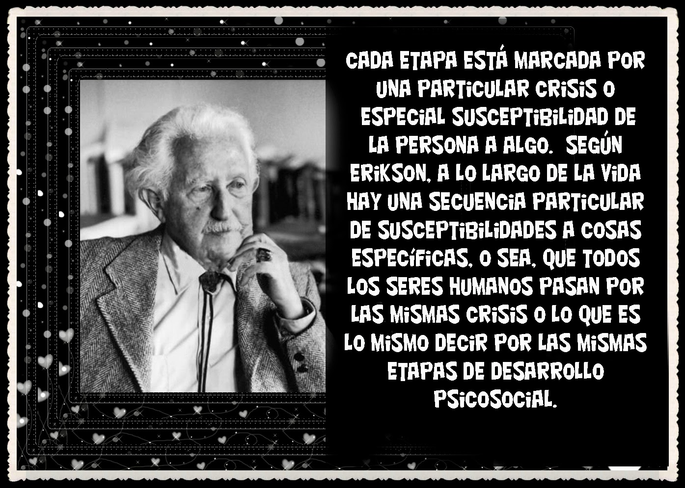 a biography of erik erikson Erik homburger erikson was a german-born american psychoanalyst and educator whose studies have perhaps contributed most to the understanding of the young on june 15, 1902, erik erikson was born in frankfurt am.