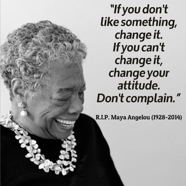 Maya Angelou Quotes: Attitude Quotes By Maya Angelou. QuotesGram