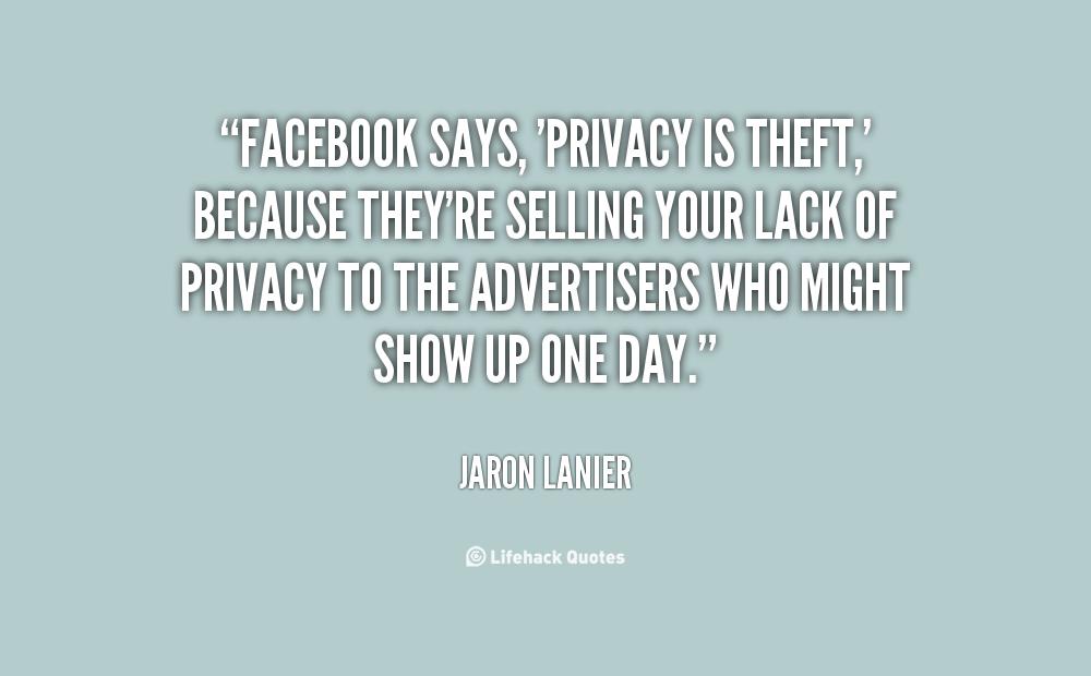 Facebook Privacy Quotes. QuotesGram